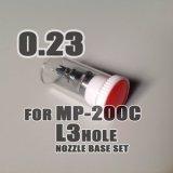 画像: MP-200C用 純正ノズルベースセット(L3ホール)