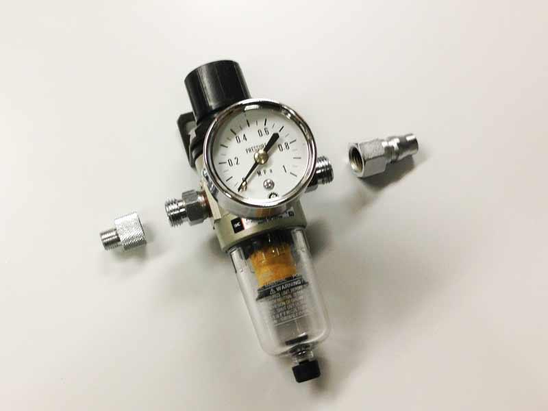 画像1: SMC製フィルター付きエアーレギュレター